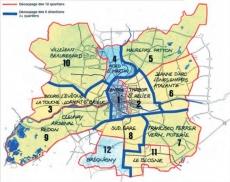 carte_12 quartiers rennais